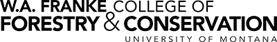 College of Forestry & Conservation Logo